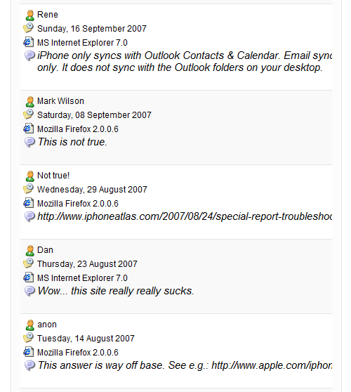 iPhone Forums