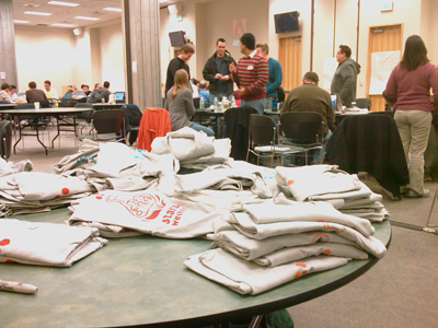 Seattle Startup Weekend Swag