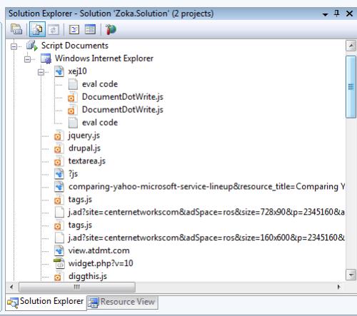 VS 2008 ScriptDocuments